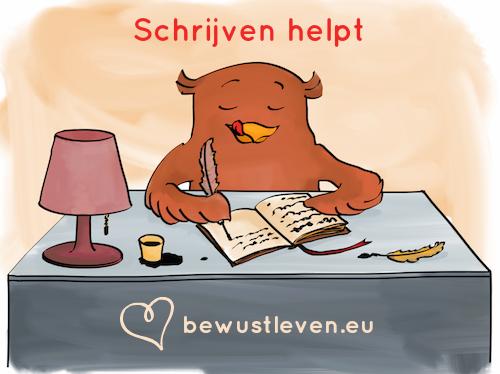 schrijven helpt - bewustleven.eu - bewust leven