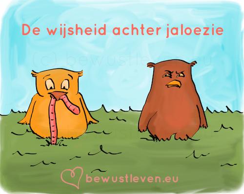 De wijsheid achter jaloezie - bewustleven.eu