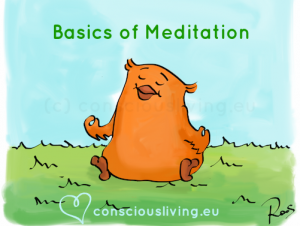 Basics of meditation - www.consciousliving.eu