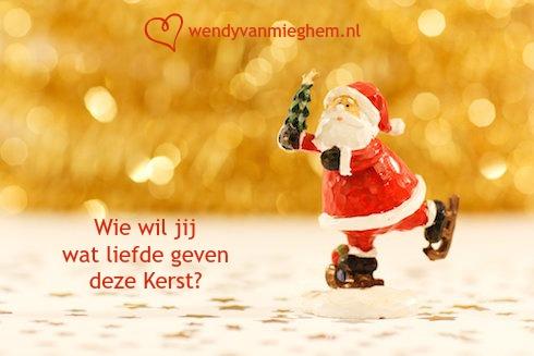 bewust leven kerstactie - wie wil jij wat liefde geven deze kerst?