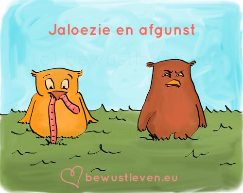 Jaloezie en afgunst - bewustleven.eu