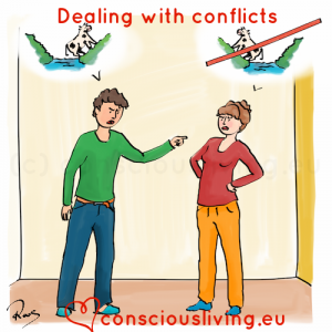 Conscious Living training - dealing with conflicts - consciousliving.eu