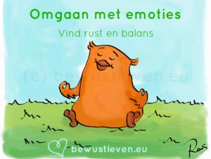 Omgaan met emoties online cursus en training - bewustleven.eu