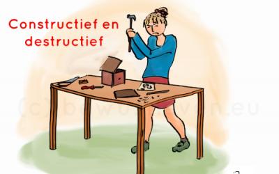 Constructief en destructief