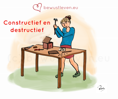 Constructief en destructief omgaan met emoties - bewustleven.eu
