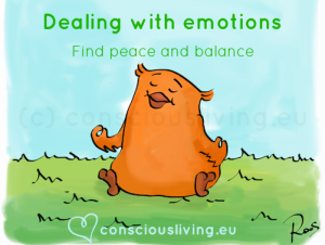 Dealing with emotions - consciousliving.eu