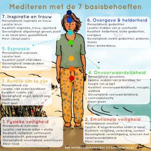 Online Meditatiecursus - mediteren met basisbehoeften - bewustleven.eu