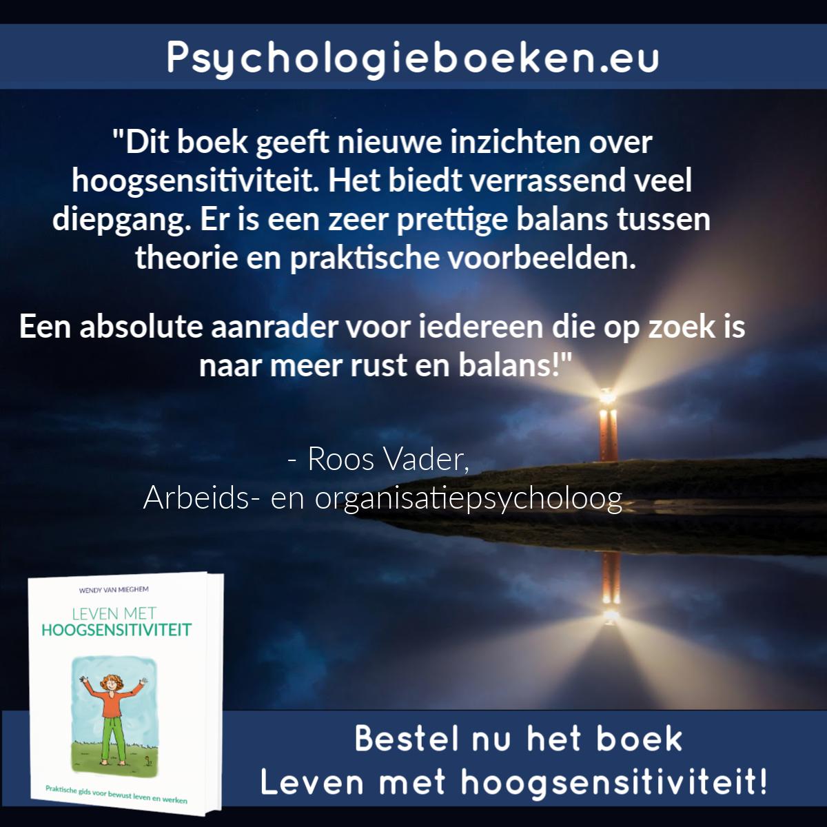Aanbeveling boek Leven met hoogsensitiviteit - Psychologieboeken.eu