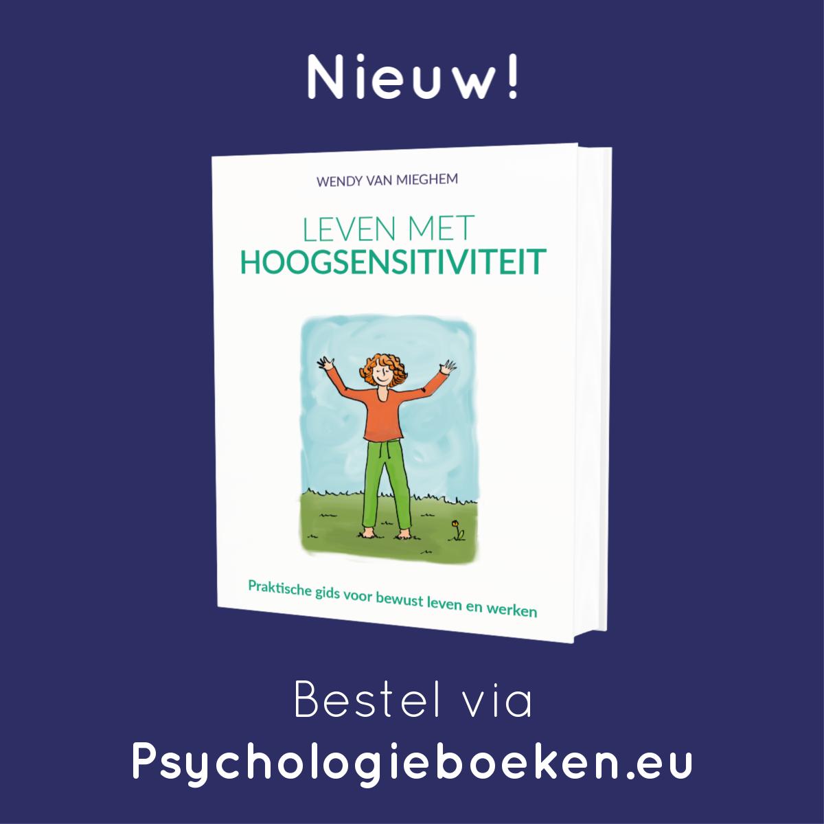 Boek Leven met hoogsensitiviteit - Psychologieboeken.eu