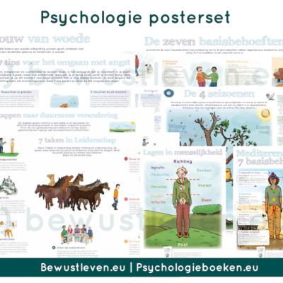 Psychologieboeken.eu psychologie posterset