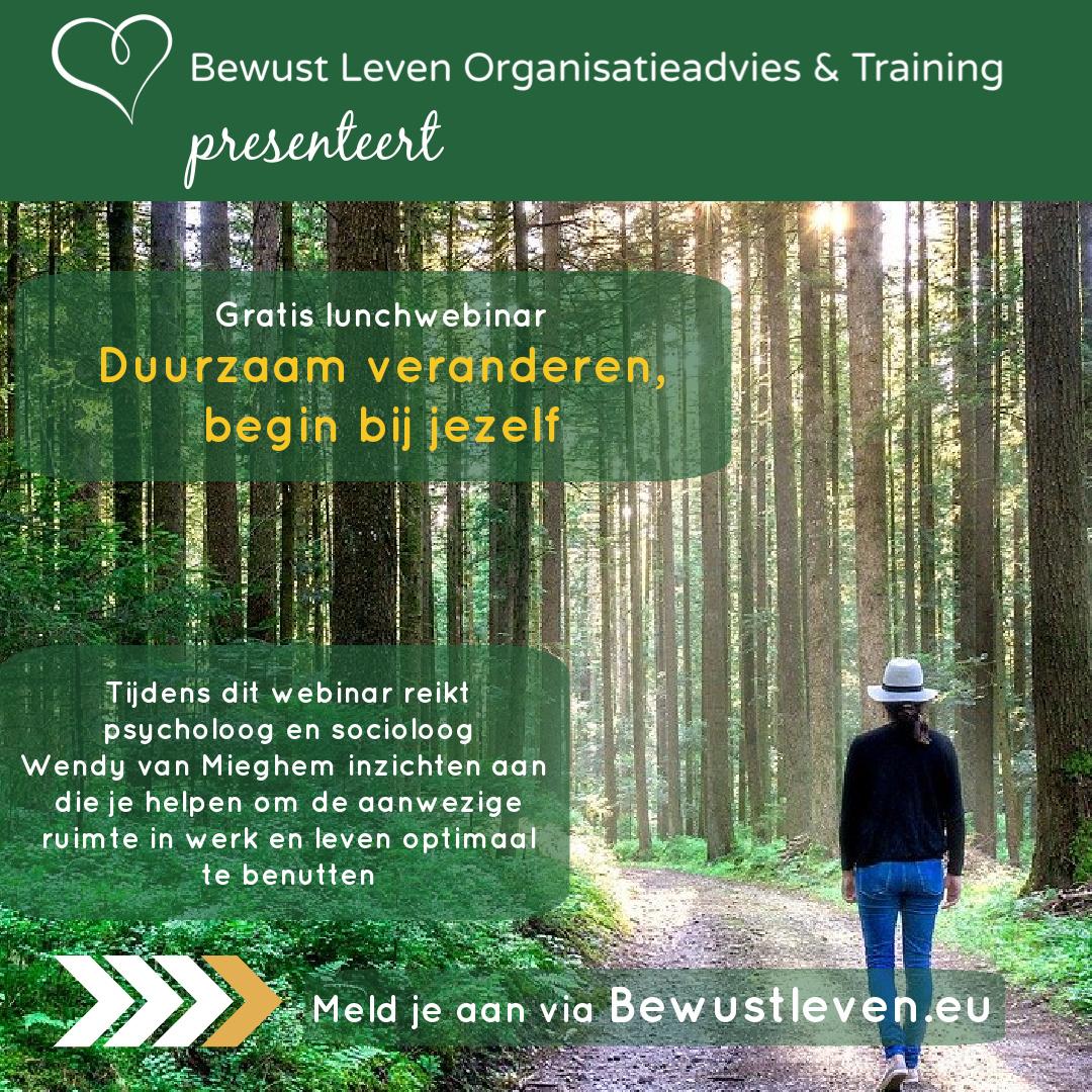Duurzaam veranderen - Bewustleven.eu | Psychologieboeken.eu