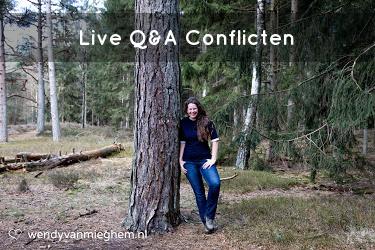 Live Q&A conflicten