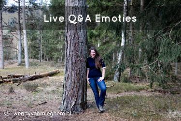 Live Q&A Emoties - Wendyvanmieghem.nl
