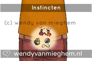 Instincten - Wendyvanmieghem.nl