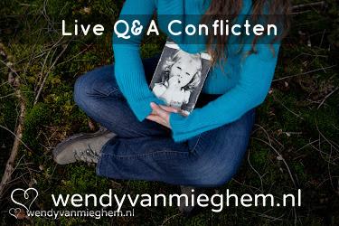 Live Q&A conflicten - Wendyvanmieghem.nl