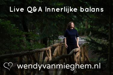 Live Q&A Innerlijke balans - Wendyvanmieghem.nl